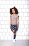 Skirt Bibbi AOP bird