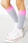 A1-sokken Bianca, grey/pink