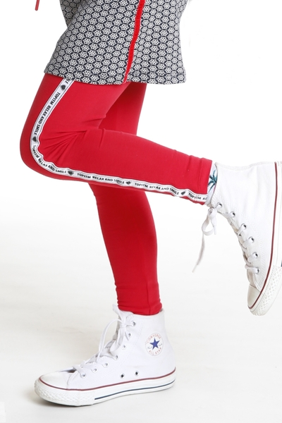 A1-Legging Kalla red