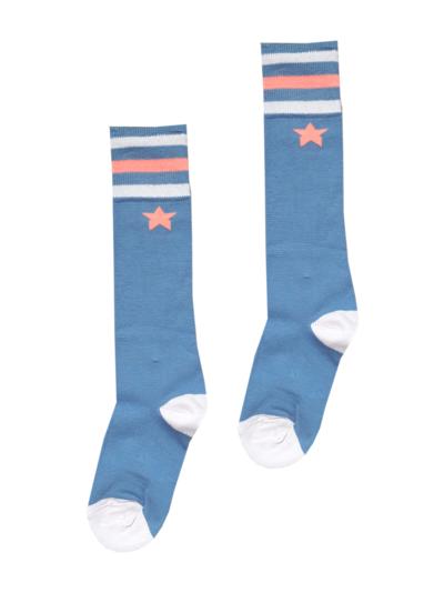 A1-Sokken Jeansblue