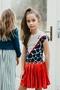 B- dress Tineke AOP dots