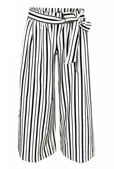 D-Culottte  stripe Pant Laila