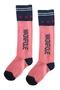 S-Knee socks- Petra koraal roze