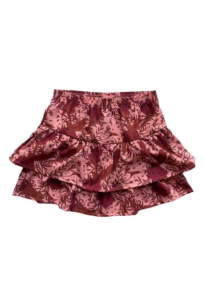 Y18-Skirt Nana- AOP flower