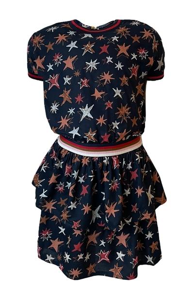 Y14- Dress Allison AOP star