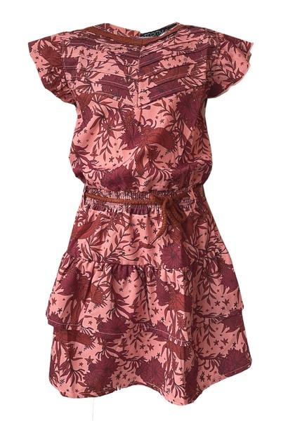 Y17-Dress Barbara aop flower