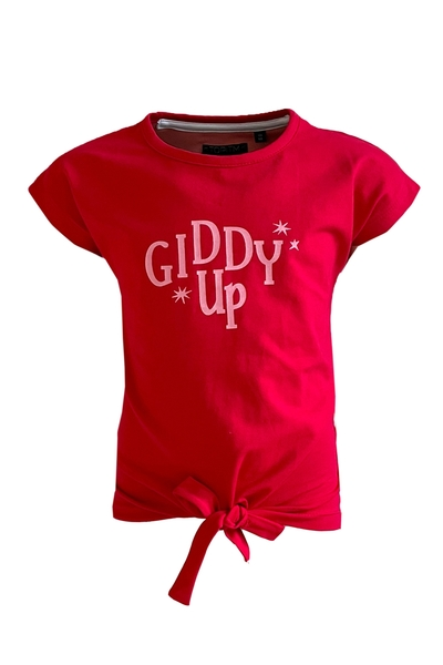 Y21- Top KIDDY UP RED