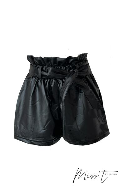 U-MISS-T ZABEL short Faux leather